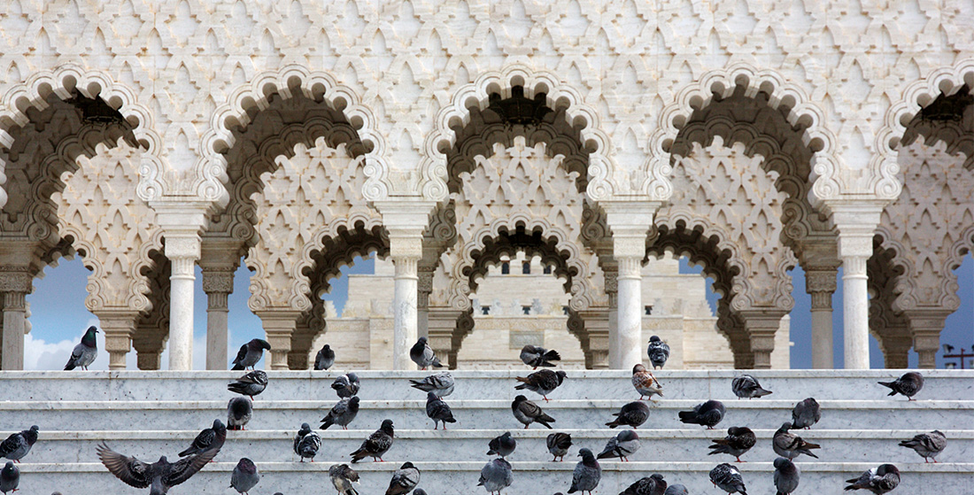 Download this free Islamic Stock Photo of arches in Rabat, Morocco
