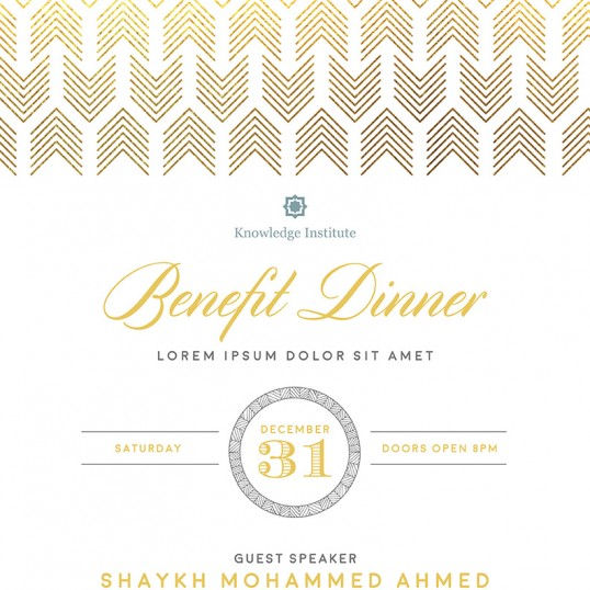 Benefit Flyer Template