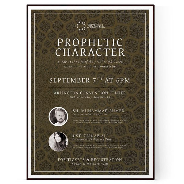 Religious Flyer Template