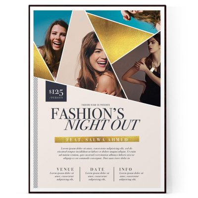 Gala Event Flyer Template