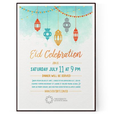 Eid Event Flyer