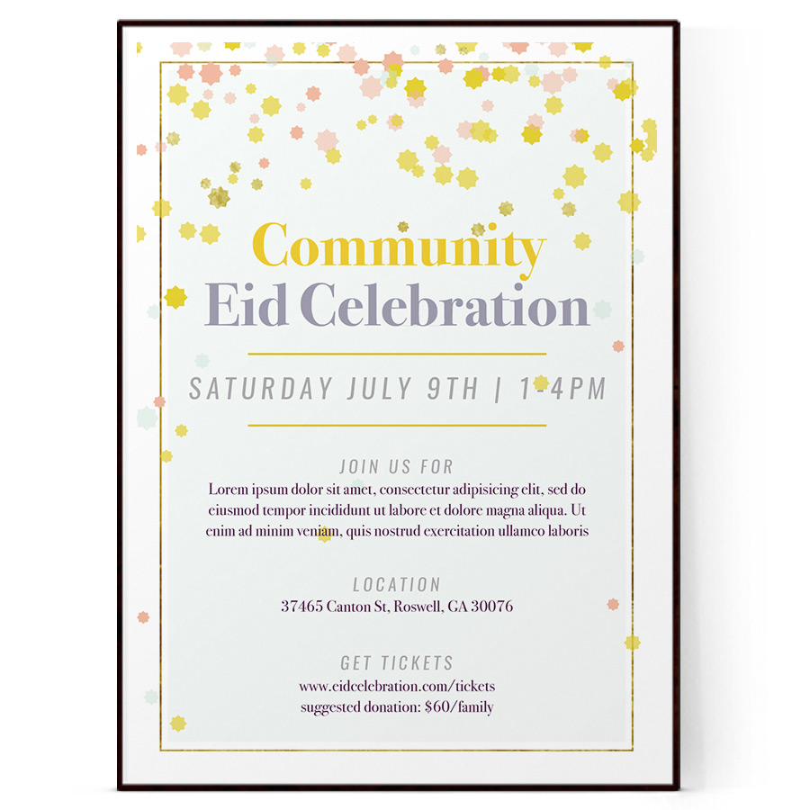 invitation flyer template  psd   docx