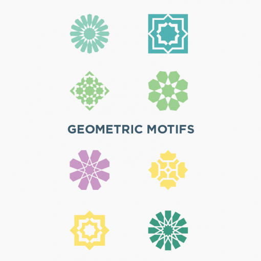 Islamic Geometric Pattern Vector (free download). Based on Moroccan patterns and islamic history.